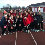 2018 Miami County Track and Field Championship- Lady Red Devils Placed 2nd!!