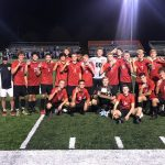 Boys Varsity Soccer Wins GWOC North Title with a tie vs Butler 1 – 1 !!