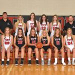 Girls Varsity Basketball beats Miami East 43 – 28