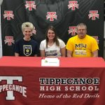 BROOKE ASELAGE SIGNED WITH MOUNT SAINT JOSEPH FOR VOLLEYBALL