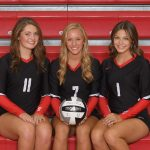 Girls Varsity Volleyball beats Troy 3 – 2
