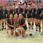 Red Devils Volleyball Wins District Championship