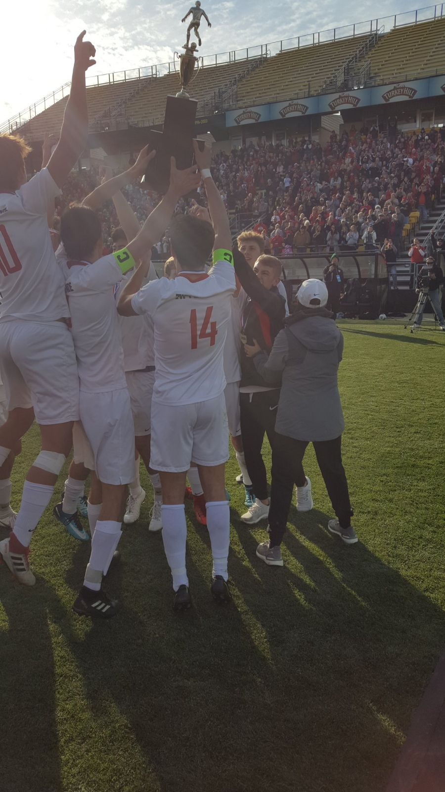 Soccer State Championship Celebration Planned for Sunday, Nov. 17th at 2pm in HS Gym