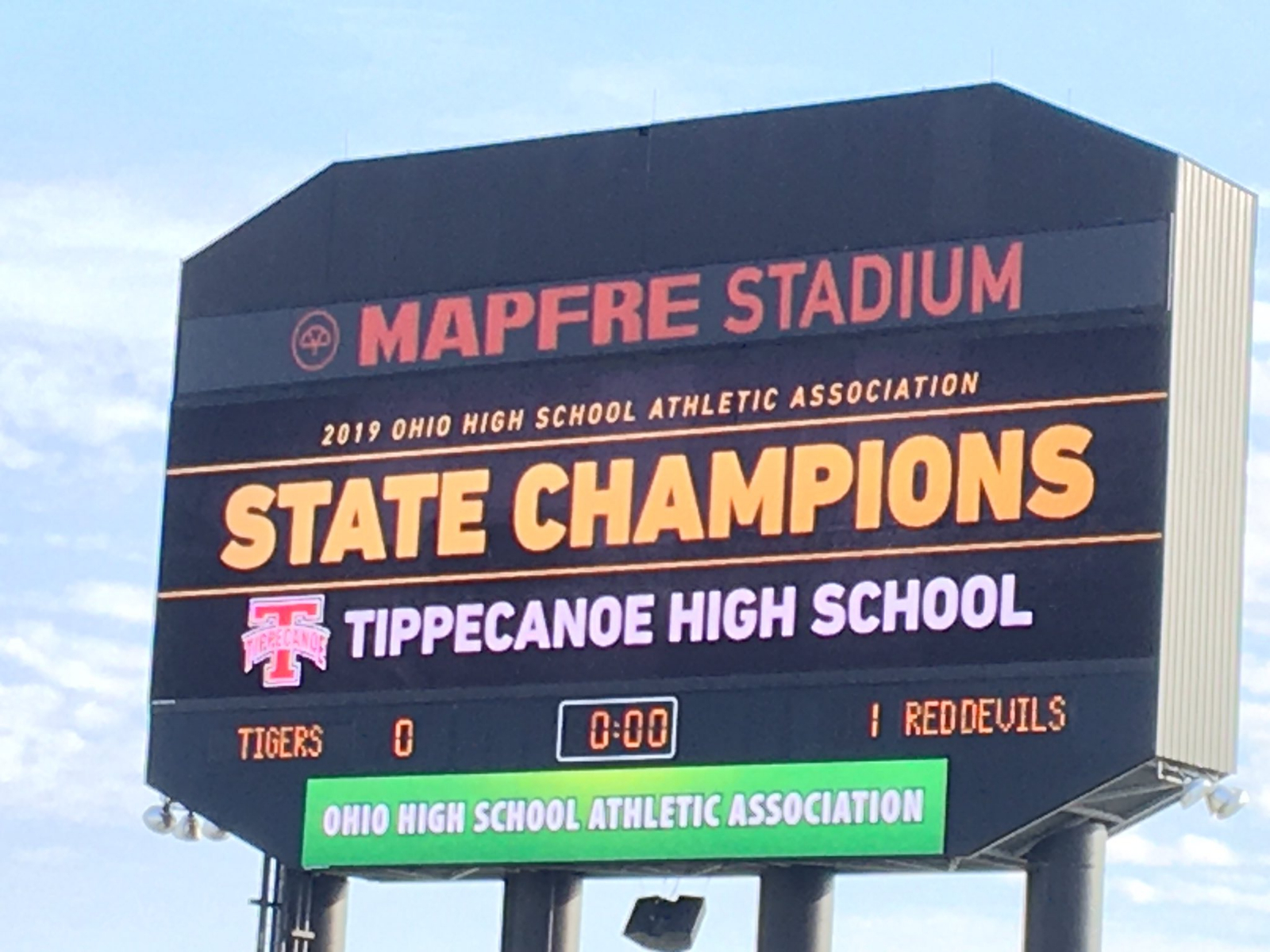 Red Devils are Div. II STATE CHAMPIONS!!!
