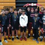 Freshman Wrestling finishes 1st place at Hammer and Anvil Freshman Tournament @ Western Brown HS