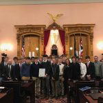 State Soccer Champions Honored at State House