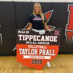 All-American Banner Presented to Tippecanoe H.S. alum Taylor Prall