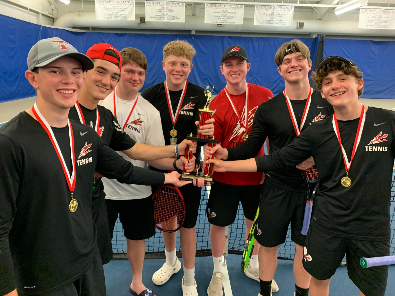 Tipp Tennis Wins Schroeder Invitational