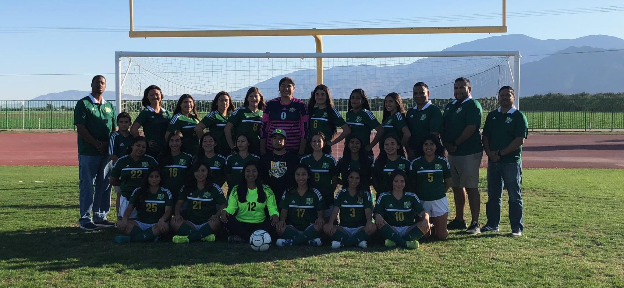 Ladies Soccer completes historic regular season