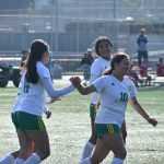 Girls Varsity Soccer beats Indio HIgh School 3-0