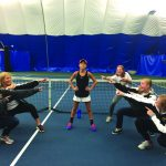 Girls Tennis: Compete in section competition