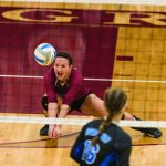 Volleyball: Spikers fall in Sections