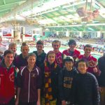 Boys Swim and Dive: Compete in duals, Maroon and Gold Meet