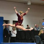 Gymnastics: Defeat Cougars; Abid wins All Around
