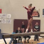 Gymnastics: Crimson continue roll; Defeat Elks