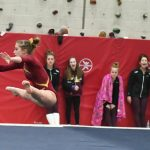 Gymnastics: Crimson defeat Anoka; Eungard 3rd in All Around
