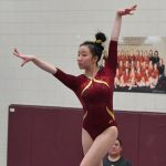 Gymnastics: 3rd at Breck; Win conference meet