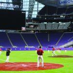 Baseball: Team gets taste of US Bank Stadium