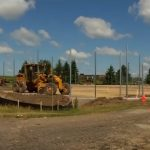 Tennis: Construction in full swing; bleachers to be added (VIDEO)