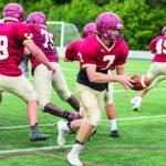 Football: New-look Crimson seek quick growth on gridiron