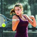 Girls Tennis: Enjoying new courts, successful season