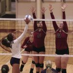Volleyball: End best season in Section semifinal loss