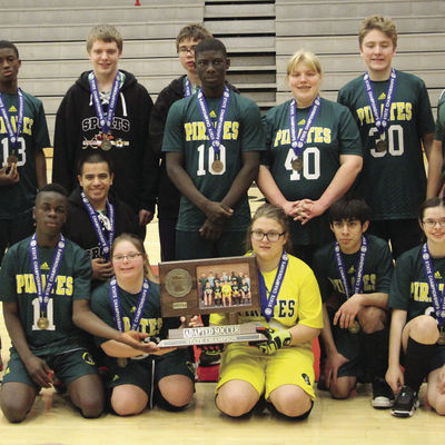 Adapted Soccer: District CI team earns 3rd straight state championship