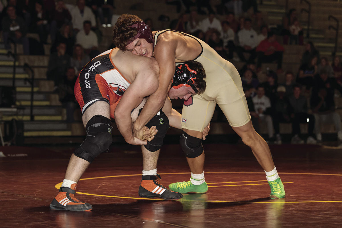 Wrestling: Crimson win 1st conference championship