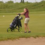 Girls Golf: Days from taking the course