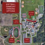 Softball: Parking Notice for Gamedays