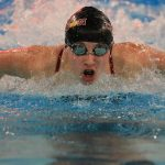 Girls Swim and Dive: #10 ranked Crimson place 2nd at NWSC Championships