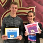 Triple A Award Winners: Congrats Charlotte Rolfs and Tyler Burkum