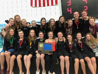 Girls Swim and Dive: Win Section 8AA title; headed to State! (VIDEO)