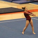 Gymnastics: Crimson defeat Irondale; Abid and Thompson win All-Around top places