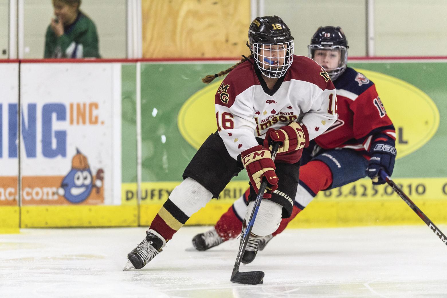 Girls Hockey: Score overtime win at Blaine