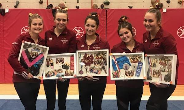Gymnastics: Crowned undefeated Conference Champions with win over Centennial