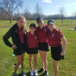 Girls Golf: JV Results from Bakers Evergreen