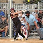 Softball: Shutout NWSC rival Centennial in lightning-shortened contest