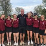 Girls Golf: Tie for 2nd at STMA scramble event