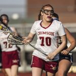 Girls LAX: Emily Herdine sets Crimson scoring record