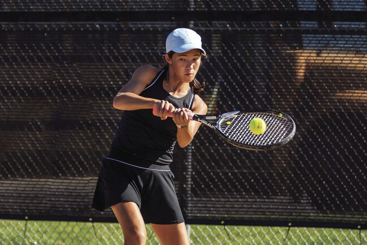 Girls Tennis: Team young but competitive