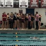 Girls Swim and Dive: Win tight NWSC meet 94-90 over Andover