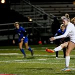 Girls Soccer: Play the wind, defeat defending champ Minnetonka 2-0