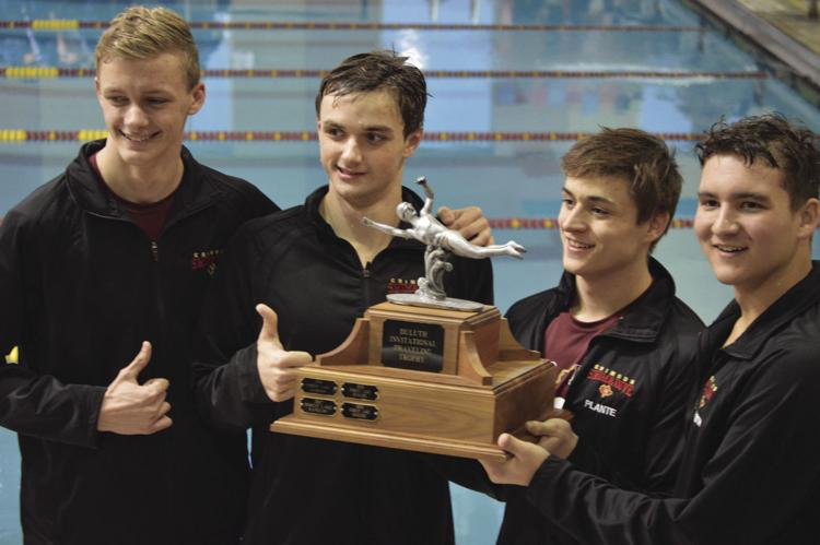 Boys Swim and Dive: Stay undefeated in conference