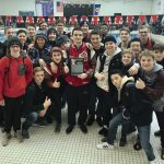 Boys Swim and Dive: Crimson win 8AA True Team Section Meet