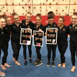 Gymnastics: Crimson down Cardinals on Senior Night; Abid and Thompson finish 1-2