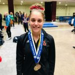 Gymnastics: Abid wins State beam title; 3rd in All Around