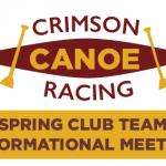 Canoe Racing Club: Informational Meeting