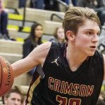 Boys Basketball: Crimson advance to Thursday's Section 8AAA final