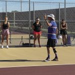 Girls Tennis: Athletes return to practice